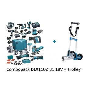 Combopack Makita DLX1102TJ1...