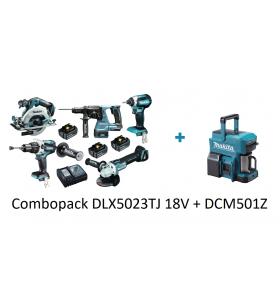Combopack Makita DLX5023TJ...
