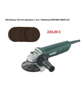 Lot meuleuse METABO 125 mm...