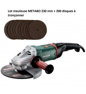 Lot meuleuse METABO 230 mm...